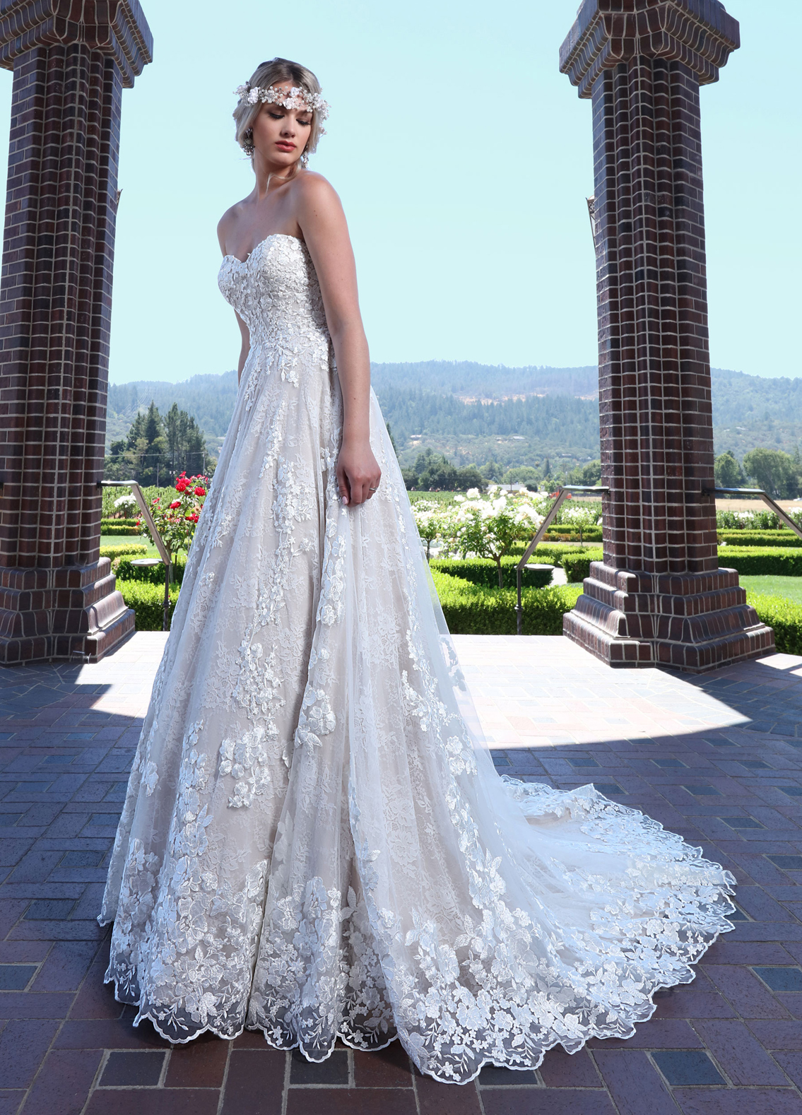 Designer Wedding Gowns Style Guide By Ashley Justin Bride